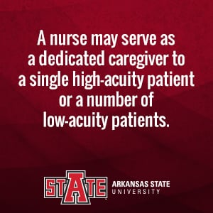 What Is High-Acuity Nursing?   A-State Online