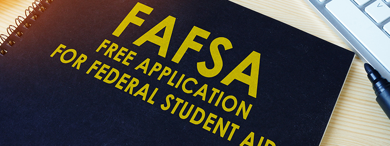 Online students can complete the FAFSA online for financial aid information