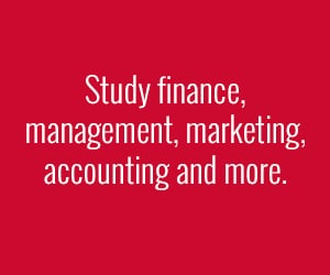 Study finance, accounting, management and marketing in a BSBA program