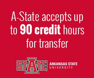 Transfer up to 90 credit hours with Arkansas State