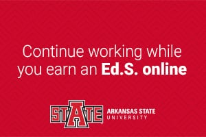continue working while earning an Ed.S. degree online