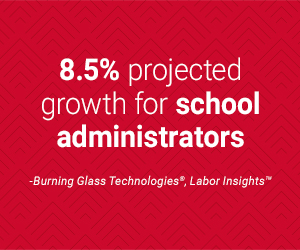 projected job growth for school superintendents