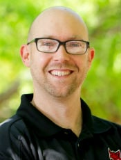 Dr. Ryan Kelly, Associate Professor at A-State