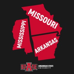 Most A-State MSE in Reading students are in Arkansas, Missouri and Mississippi