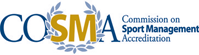 Commission on Sport Management Accreditation (COSMA) Logo