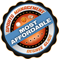 Sports Management Degree logo