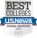 Best Colleges | U.S. News & World Report | Regional Universities - South - 2017